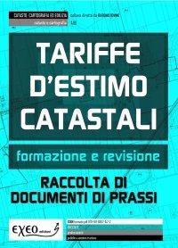 TARIFFE D�ESTIMO CATASTALI FORMAZIONE E REVISIONE