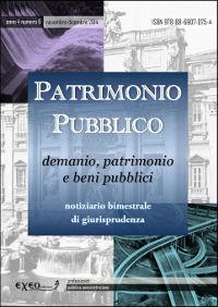 PATRIMONIO PUBBLICO 6/2014