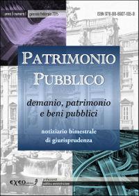 PATRIMONIO PUBBLICO 1/2015