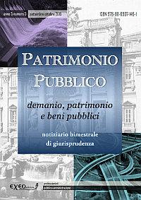 PATRIMONIO PUBBLICO 5/2015