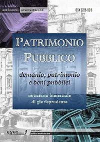 PATRIMONIO PUBBLICO 5/2016