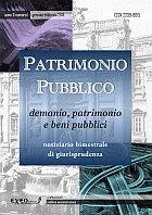 PATRIMONIO PUBBLICO 1/2019