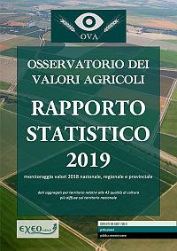 RAPPORTO STATISTICO SUI VALORI AGRICOLI - 2019