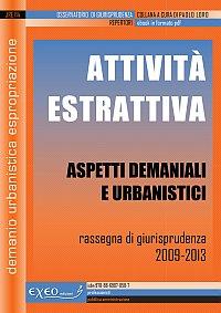 ATTIVIT� ESTRATTIVA - aspetti demaniali e urbanistici