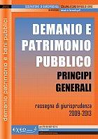 DEMANIO E PATRIMONIO PUBBLICO - principi generali